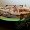 Layer cake de noel vegan