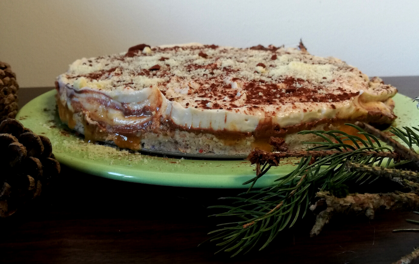 Layer cake de Noël [recette vegan et sans gluten]
