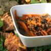 Recette vegan lentilles beluga épeautre carottes