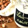 recette lait végétal noisette facile