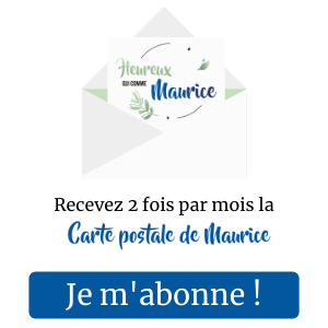 Newsletter heureux qui comme maurice