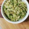 salade de choux de Bruxelles vegan facile
