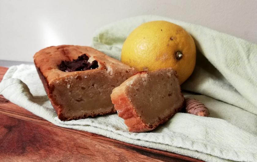 Cake au citron gingembre [recette vegan]