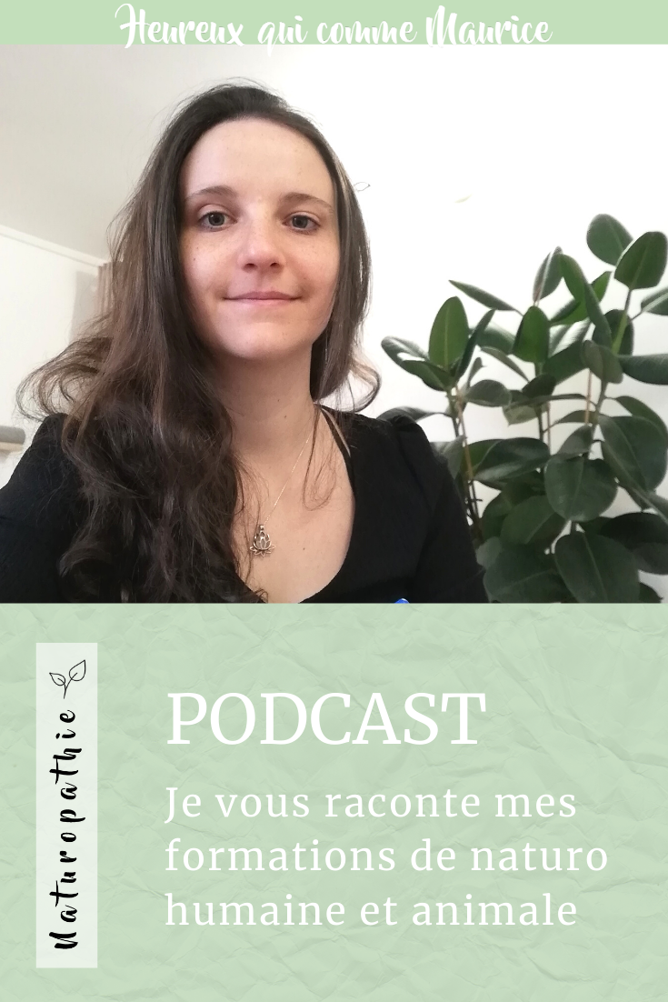 Podcast formation naturopathie humaine animale