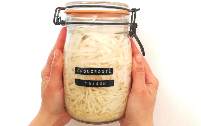 La choucroute crue : recette facile pour microbiote happy !