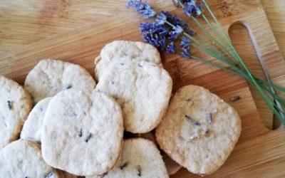 Sablés à la lavande : une recette facile et parfumée [vegan]
