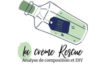 Crème Rescue : analyse de composition et DIY [Fleurs de Bach]