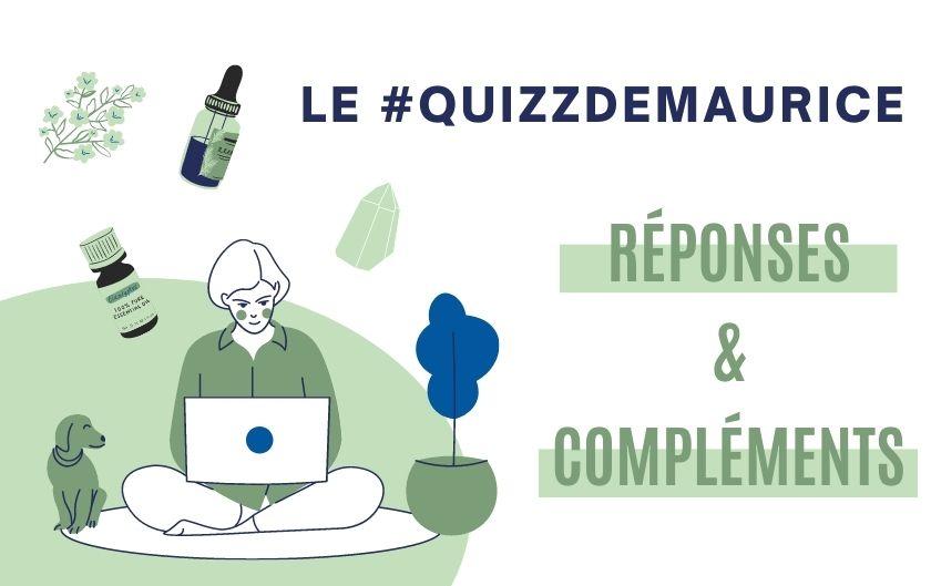 Réponses aux #QuizzDeMaurice