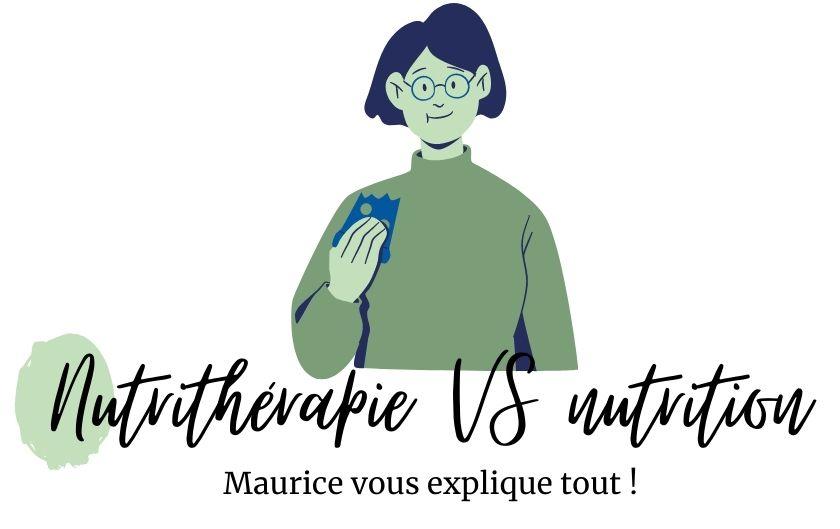 Nutrition VS nutrithérapie : quelles différences ?