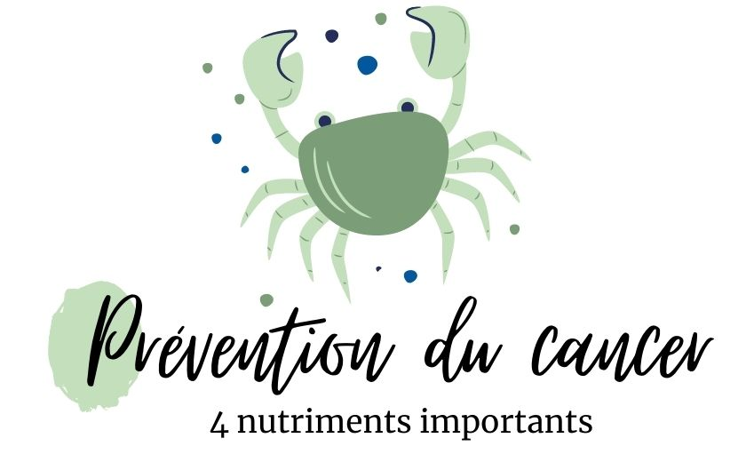 4 nutriments importants dans la prévention du cancer – naturopathie