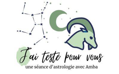 J'ai testé… une séance d'astrologie avec Amba de Manipura