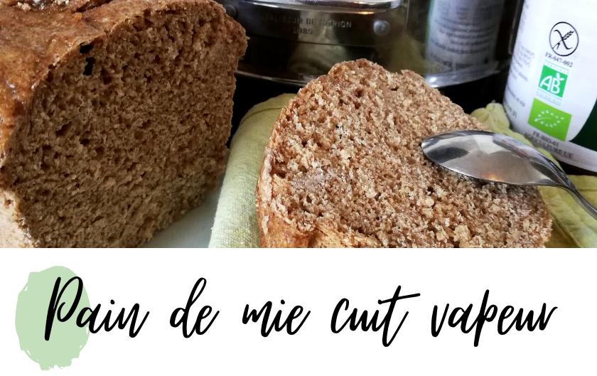 pain de mie vegan vitaliseur de marion vapeur