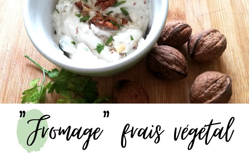 recette fromage frais vegan noisettes facile